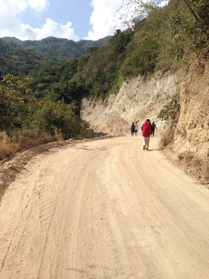 daguldol unpaved road