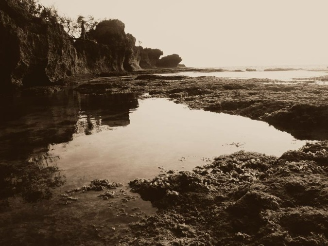 low tide surip