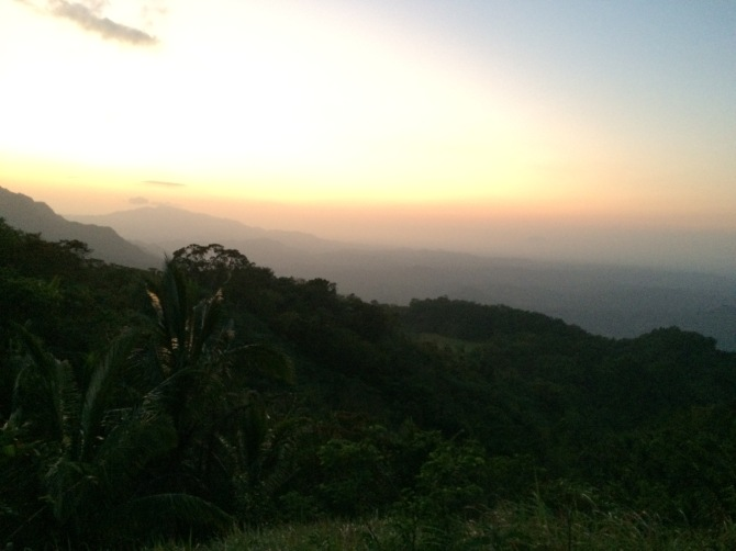 summit daguldol sun set