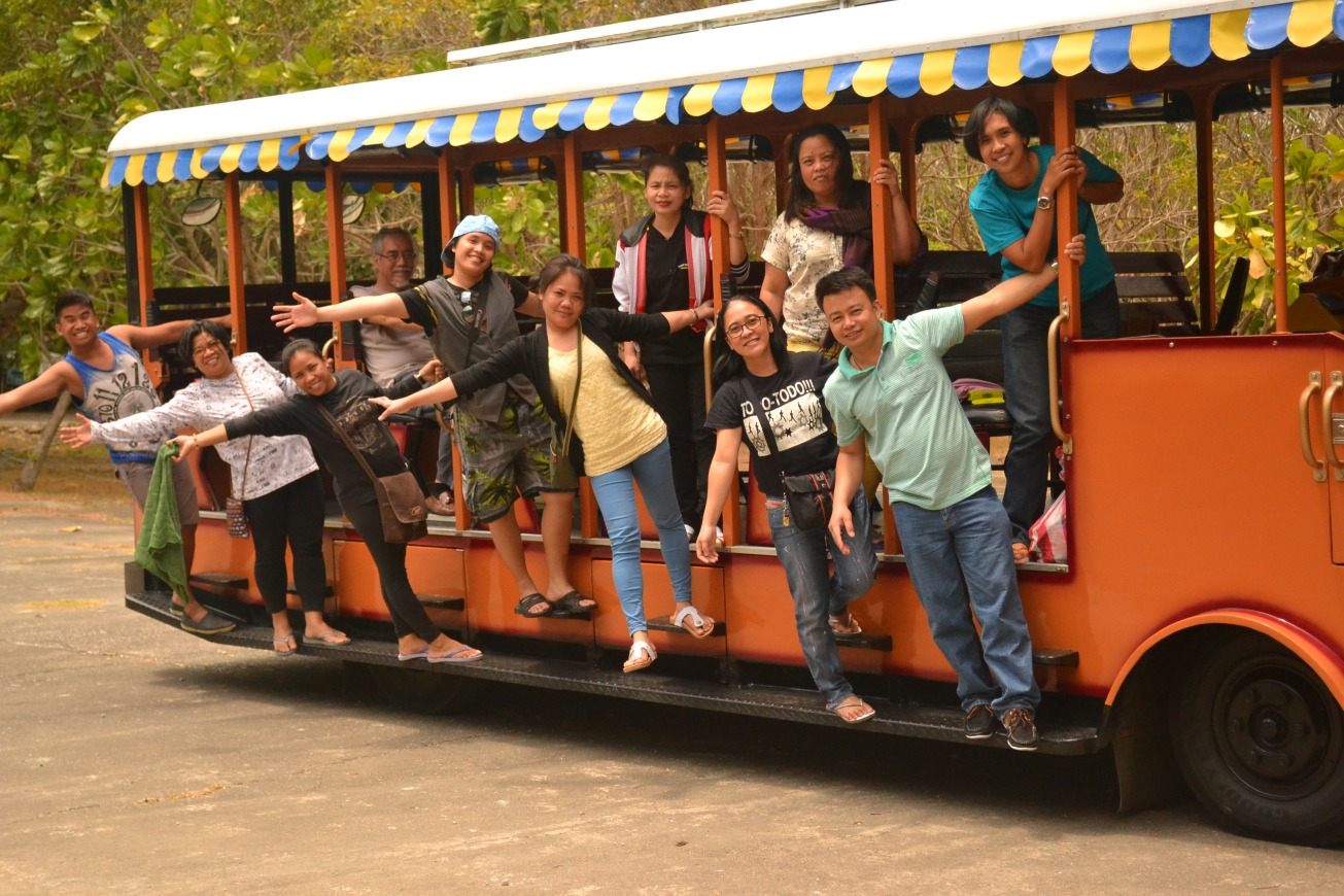 Team Building @ Corregidor - Rio Nacum; March 25, 2014