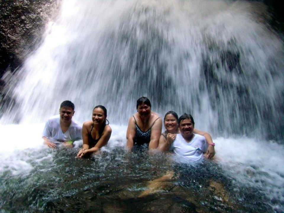 This family believes in the power of happy!- Julianne Torres, Pangil River EcoPark, April 12, 2015
