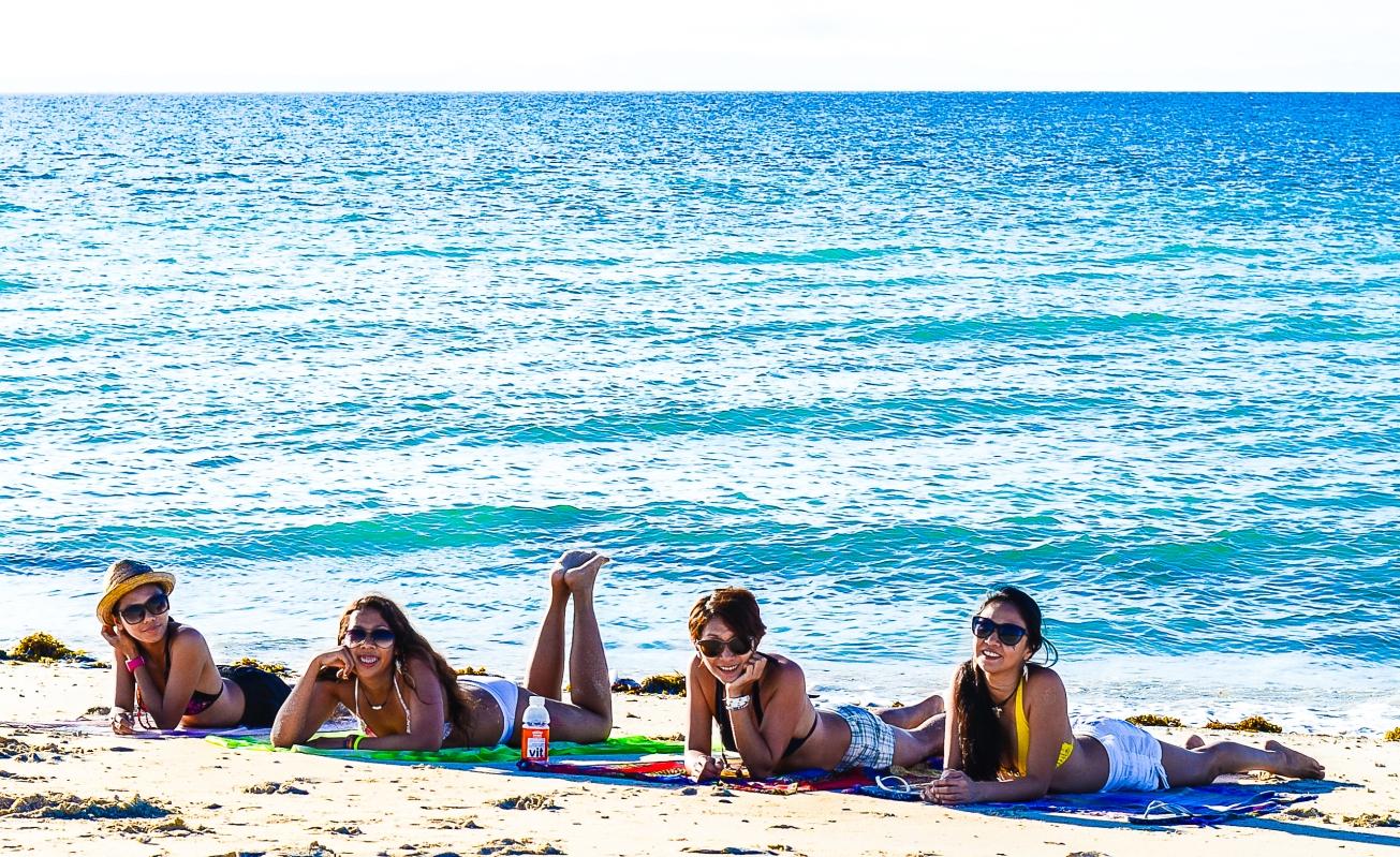 BeachFriends' playground. The Beach! - Luke Belmonte, Zambales2014