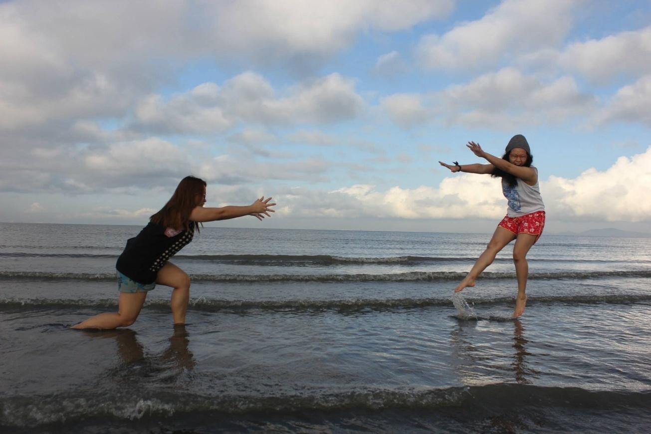 Camehame wave sisters of summer. - Nicko Gange,  San Enrique, Negros Occidental. 3/24/15