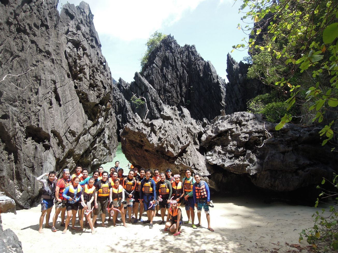 Rock of Ages (If you know what I mean) - Mary Grace Abenion, El Nido Palawan; May 2015